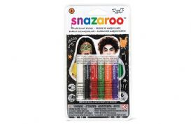 Snazaroo Halloween Face Painting Sticks (Pack of 6)T
